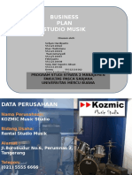 Business Plan Studio Musiex