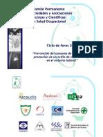 Presentación Comité Permanente en Salud Ocupacional - Ciclo de Foros Psicoactivos