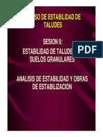 Sesión 2 Estabilidad Taludes Suelos Granulares.pdf