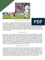 Taruhan Bola Online – Persiapan Real Dan Atletico Madrid