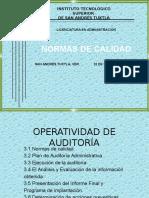 3 Unidad Opertividad de Auditoría