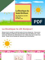 copy of la boutique du soleil brilliant
