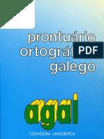Prontuário Ortográfico Galego