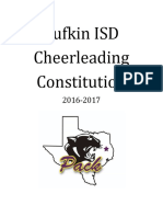 2016-2017 LHS Cheer Constitution