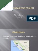 u s history road trip project