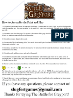 Battle for Grey Port Print and Play Lores