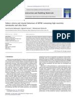 4-Failure Criteria and Triaxial Behaviour of HPFRC