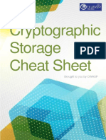 Cryptographic Storage Cheat Sheet