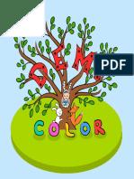 DEMI Color - Carte de colorat cu poezii pentru copii