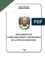 Reglamento de Condecoraciones y Distinciones