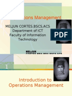 MELJUN CORTES -Operations Management (INTRODUCTION & DEFINITION)