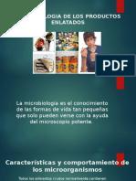 Microbiologia de Los Productos Enlatados