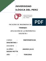 Matematicas Discretas i