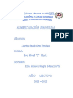 Portafolio Adm Financiera