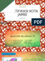 Identifikasi Kota Jambi