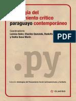 Antologia Crítico Paraguayo Contemporáneo