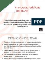 Definicion y Caracteristicas Del TDAH