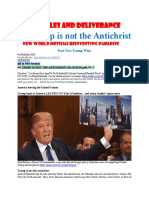 Trump Not Antichrist WWIII Great Destruction Pt 2