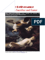 Human Sacrifice and Easter 1