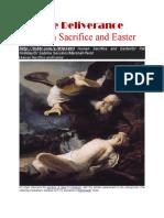 Human Sacrifice and Easter 1