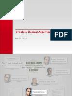 Oracle vs Google First Half