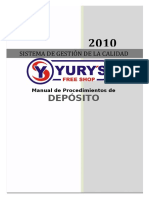Manual de Depósito Final