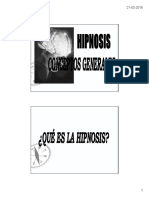 Clase 1 Hipnosis