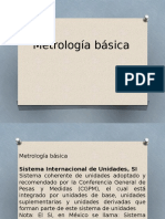 Metrología básica