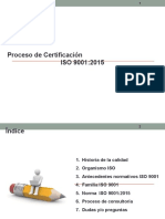 Sensibilizacion en ISO 9001-2015