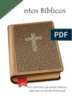 Labirintos Bíblicos Para Crianças - Escola Bíblica Infantil
