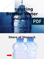 Analyzing Bottled Water Industry