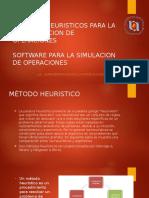 Métodos Heuristicos Para La Programacion de Operaciones