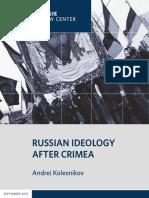 CP Kolesnikov Russian Ideology