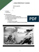 Causas y Caracteristicas II GM