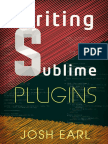 Writing Sublime Plugins Sample