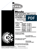Manual de Taller Montaje Del Aire Acondicionado Fiat Peugeot Citroen