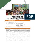 PROPUESTA - ALEGRARTE 2016