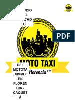 Investigación Mototaxismo - Florencia Caquta