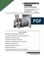 Hendrickson Procedimiento de Inspeccion y Reemplazo Del Espaciador Del Tubo Del Buje