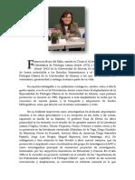 Francisca Moya Del Baño. Semblanza