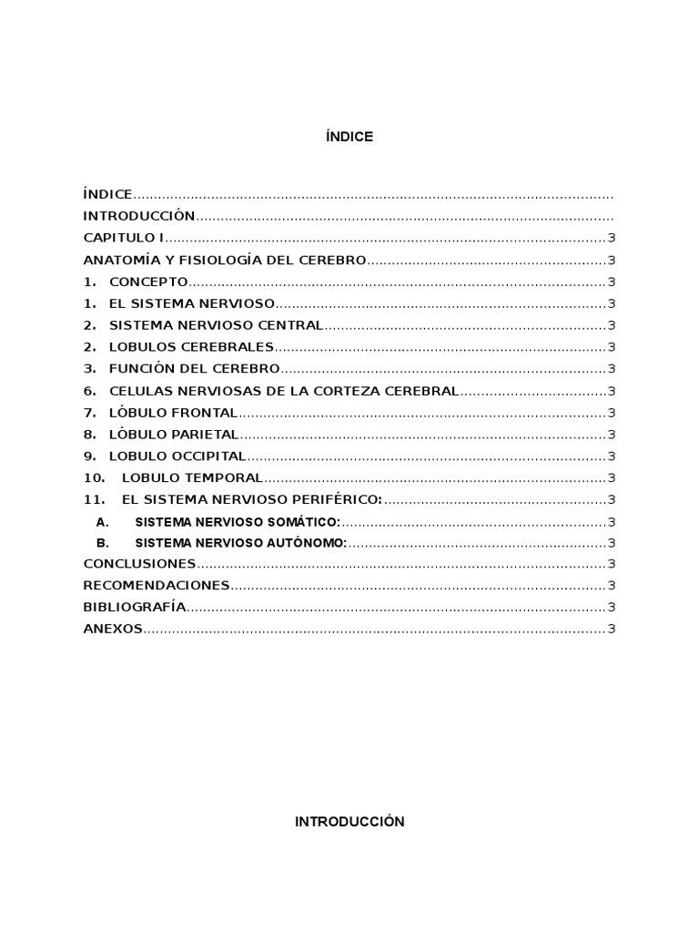 Monografia Anatomia y Fisiologia Encefalo Craneana