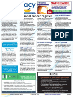 Pharmacy Daily for Fri 27 May 2016 - National cancer register, Sigma execs sentenced, NZ free quit trial, Events Calendar and much more