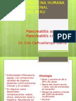 1. Pancreatitis Aguda y Crónica