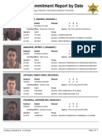 Peoria County Jail booking sheet 5/26/2016