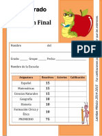 Examen Final 6º (Lainitas)