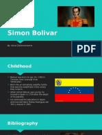 simon bolivar geography presentation