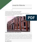 Museo Nacional de Historia.docx