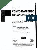 Comportamiento Organizacional 8va Edicion Stephen P Robbins