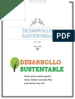 desarrollo Sustentable resumen