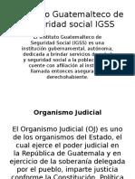Instituciones Del Igss a Instituciones Auxiliares